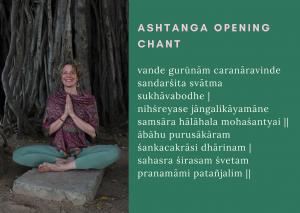 Ashtanga Opening Chant. Ashtanga Yoga Groningen. Bhumi Yoga. Yoga Groningen